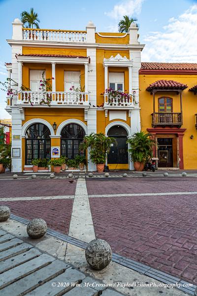 Plaza de la Aduana, Cartagena, Colombia