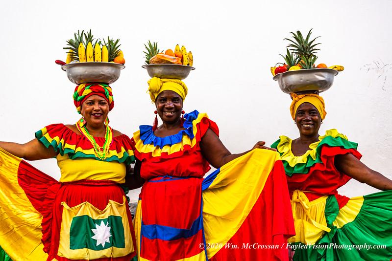 The Palenqueras of Cartagena