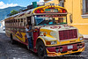 """Chicken Bus"", Antigua, Guatemala"