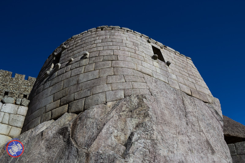 The Sun Temple at Machu Picchu from Below (©simon@myeclecticimages.com)