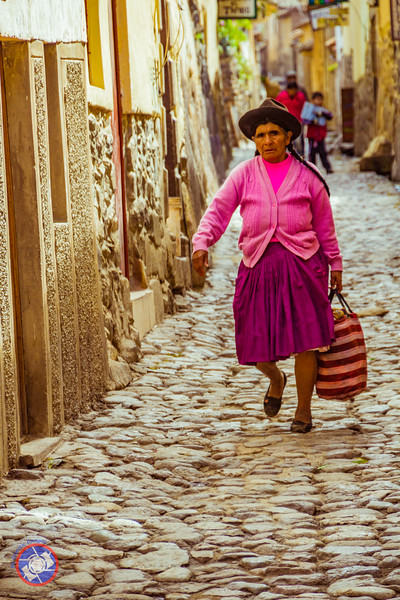 Typical Side Street in Ollantaytambo