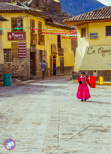 One of the Village Squares in Ollantaytambo