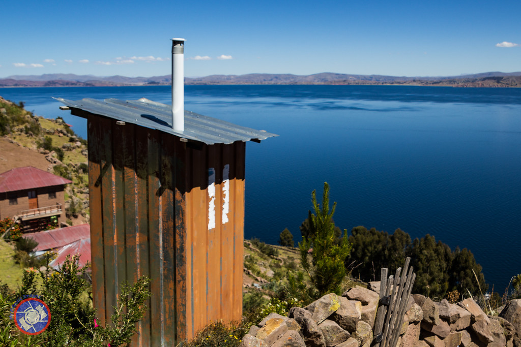 Lake Titicaca - the Best View from an Outhouse(©simon@myeclecticimages.com)