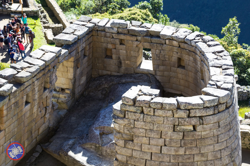 The Sun Temple at Machu Picchu