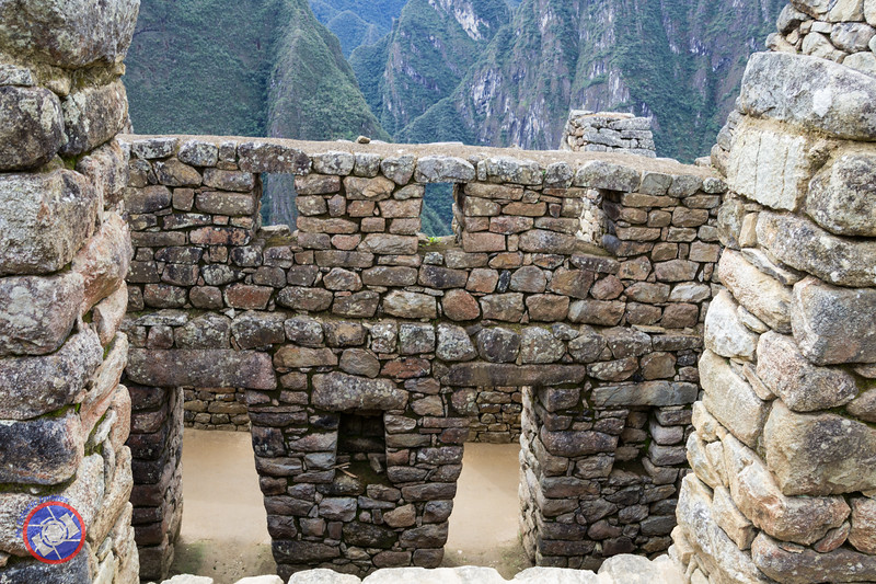 Walls of the Granary House Showing the Skills of the Inca Stone Masons