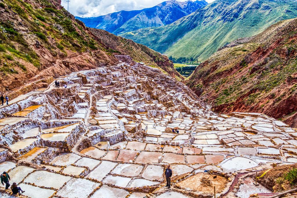 The Maras Salt Ponds Near Cusco, Peru (©simon@myeclecticimages.com)