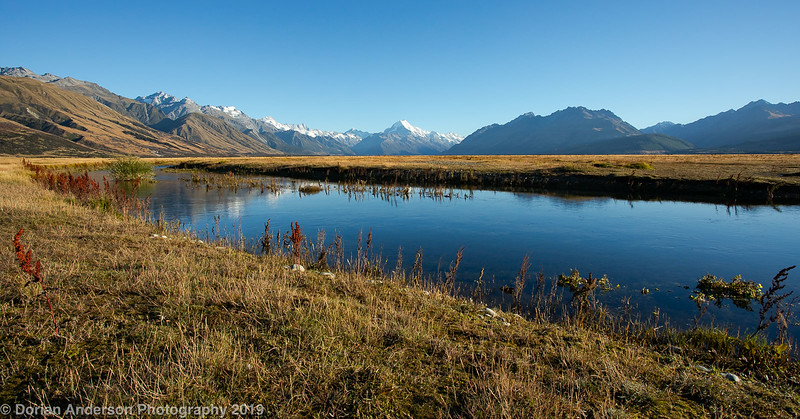 Tasman Delta and Mount Cook