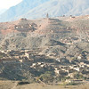 Villages along the way in the Khyber Pass. Khyber Pass Region, Pakistan