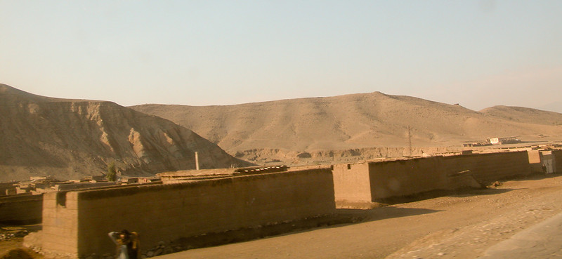 Small village a little ways before Jalabad. Afghanistan