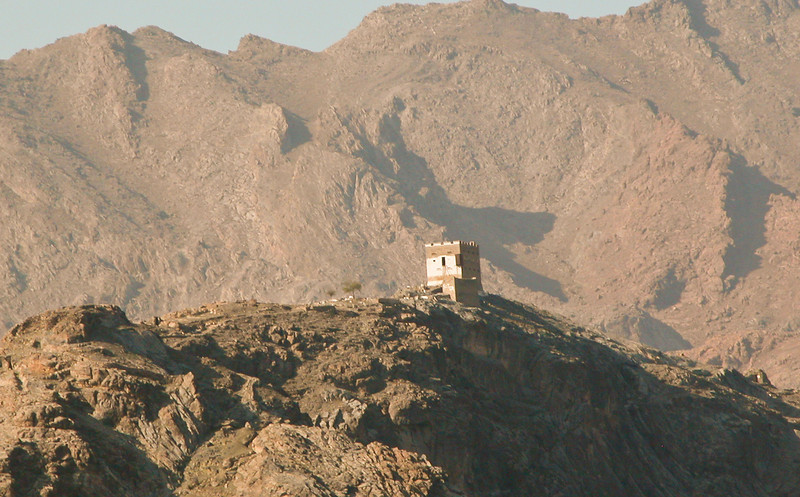 An old lonely outpost from the past. Khyber Pass, Pakistan