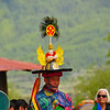 The detail on the headpieces is pretty vivid. Lots of skulls are depicted in the various masks and headpieces in the different dances. Domkhar Tsechu Festival, Domkhar, Bhutan
