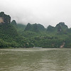 Guilin scenery of famous Karst formation along the Li River, Guilin, Guangxi Province , China