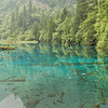 I really liked the reflections and color in this lake. Jiuzhaigou National Park, Sichuan Province, China