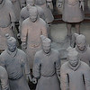 The terracotta soldiers were modeled off of real people. Xi'an, Shaanxi Province