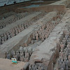 The Terracotta Army. Xi'an, China