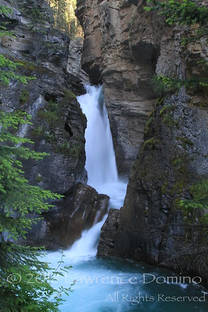 Lower falls, Johnston Creek