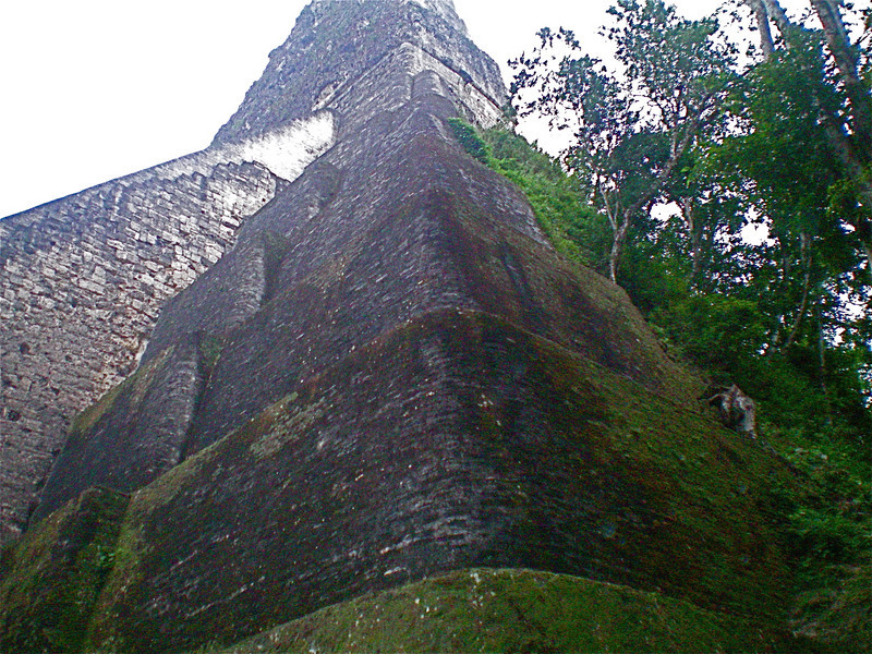 first shot at Tikal, eli's