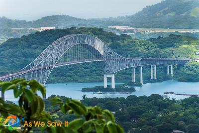 Puenta de las Americas.  Bridge of the Americas.