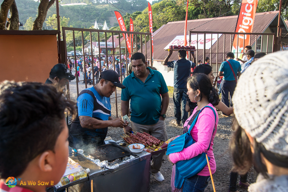 Boquete mountain coffee festival,