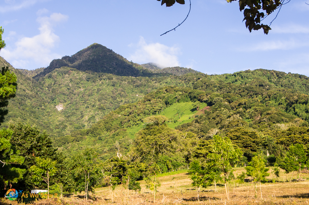 View of the mountains near Boquete