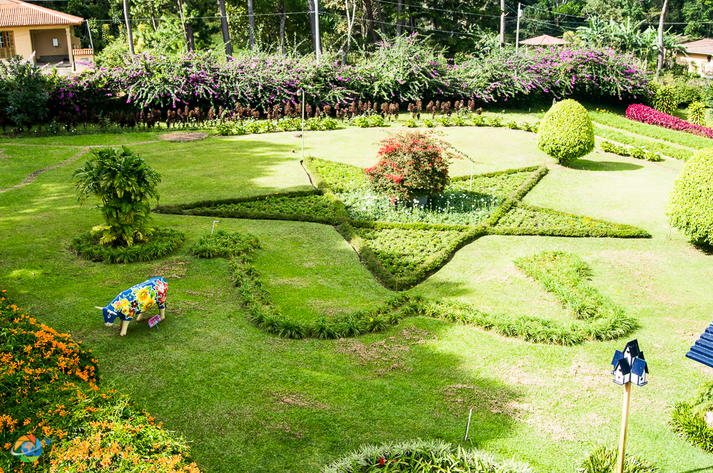 Mi jardin es su jardin just outside the city of Boquete
