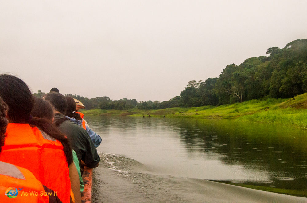 Boating to the Camino Real on Lake Alajuela