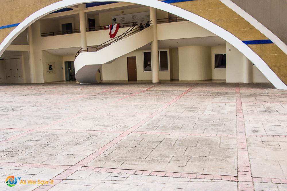 Entrance to Panama Viejo Museum