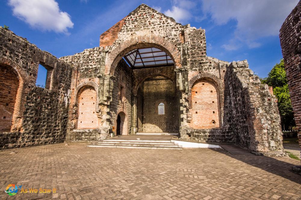 Church in Panama Viejo
