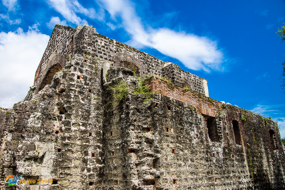 Side of a church at Panama Viejo