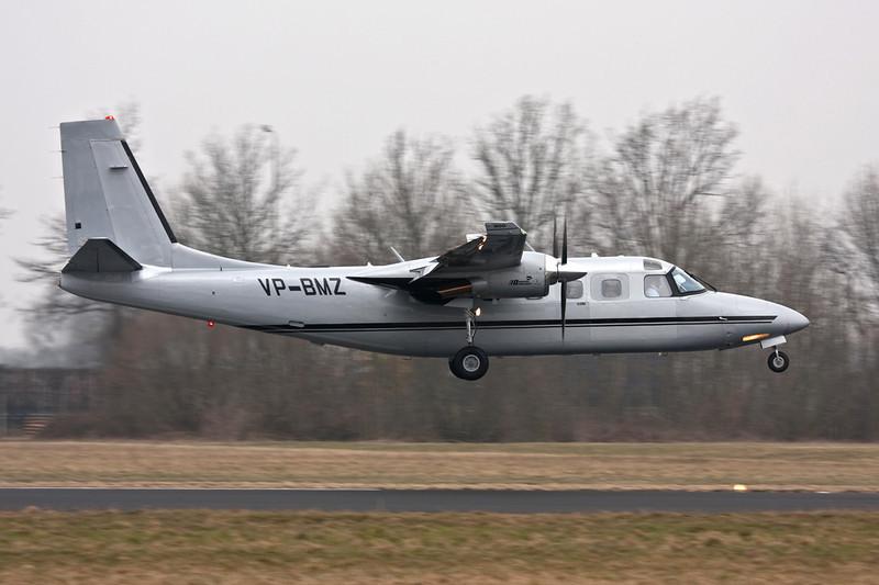 VP-BMZ Gulfstream Aerospace 690D Jetprop 900 c/n 15033 Maastricht-Aachen/EHBK/MST 11-03-10