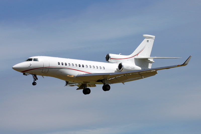 VP-CBY Dassault Falcon 7X c/n 204 Paris-Le Bourget/LFPB/LBG 10-07-16