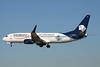 """N861AM Boeing 737-83N """"Aeromexico"""" c/n 30706 Las Vegas-McCarran/KLAS/LAS 13-11-16 """"El Universal"""""""