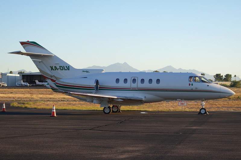 XA-DLV Hawker-Siddeley 125-900XP c/n HA-0088 Tucson IAP/KTUS/TUS 14-11-16