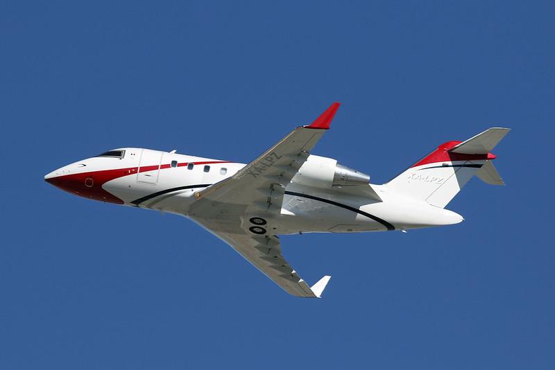 XA-LPZ Bombardier 605 Challenger c/n 5810 Los Angeles/KLAX/LAX 26-01-18