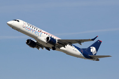 "XA-ACT Embaer Emb-190-100LR ""Aeromexico Connect"" c/n 19000557 Los Angeles/KLAX/LAX 26-01-18"