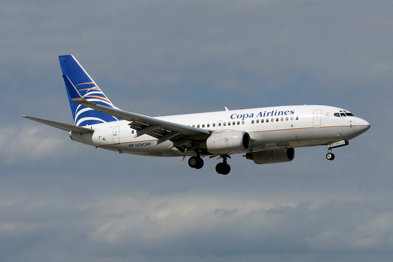 "HP-1374CMP Boeing 737-7V3 ""Copa Airlines"" c/n 30459 Miami/KMIA/MIA 04-12-08"