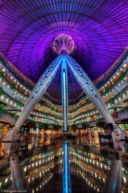Astana-Kazakhstan-Khan-Shatyr-Entertainment-Centre-inside