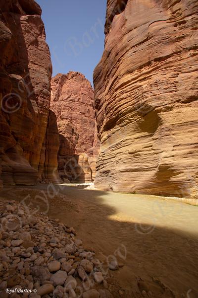 Jordan Wadi Mujib - נחל ארנון ירדן 5