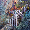 Stairway to Sand Dollar Beach in the Los Padres National Forest - Big Sur