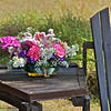 Floral Arrangement at Campground