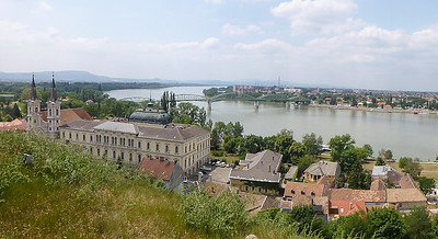 View of Slovakia from Esztergom