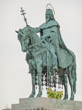 Castle Hill St. Istvan - Hungary's 1st Christian King