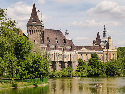 Budapest City Park - Vajdahunyad Castle