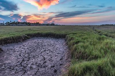 Dry Marsh Sunset 1