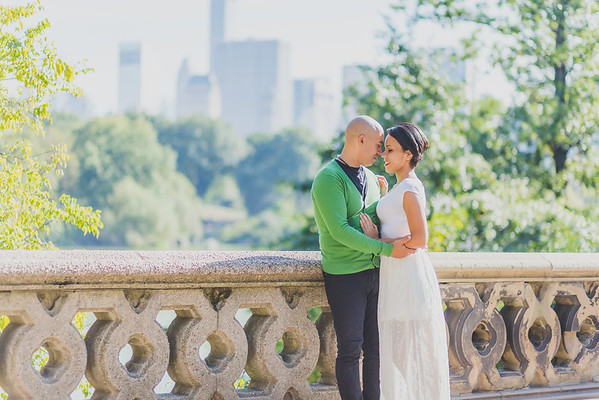 Paloma & Ely - Central Park Engagement Session