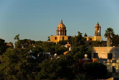 San Miguel de Allende, view from La Posada de la Aldea