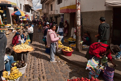 Market in Cusco, Peru