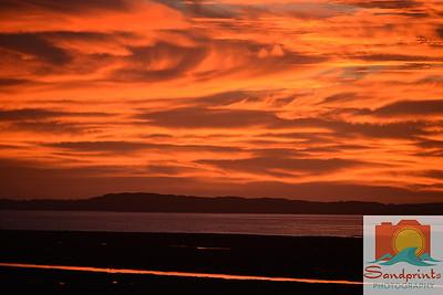 Estuary Sunset_sandprints 014