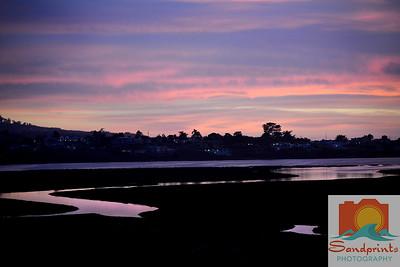 Estuary Sunset_sandprints 013