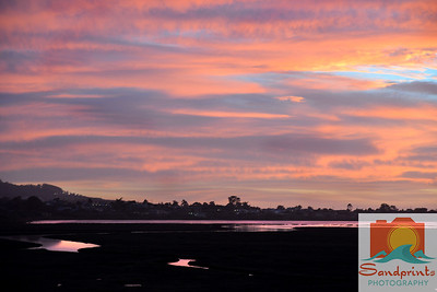 Estuary Sunset_sandprints 009